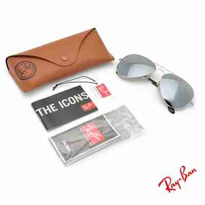 6f842bc4e3 Fake Ray Ban AVIATOR LARGE METAL RB3026 3N ll W3277 62-14 3N