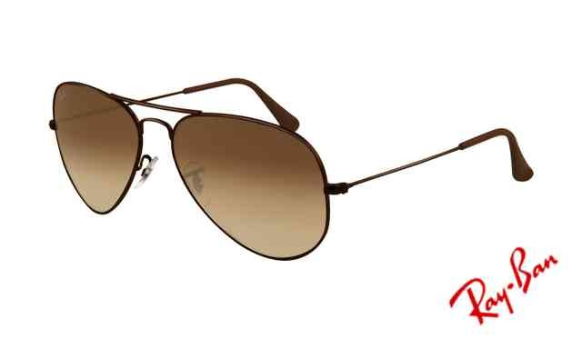 1f9d69329a Fake Ray Ban RB3025 Aviator Sunglasses Brown Frame Crystal Brown