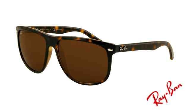 99f895acfe0 Fake Ray Ban RB4147 Sunglasses Light Havana Frame Crystal Deep Brown