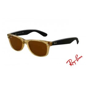 ray ban rb3025 aviator sunglasses gold frame crystal honey ...