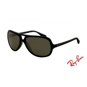 cheap knock off ray bans  Fake Ray Ban RB4151 Sunglasses Gradient Black Frame Crystal Green Len
