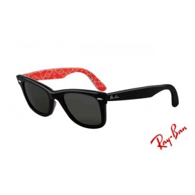 451e08194d062 Fake Ray Ban RB2140 Wayfarer Sunglasses Gray Dark and Light Frame