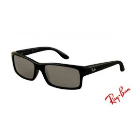 eab8ed4a5f Fake Ray Ban RB4151 Sunglasses Gradient Black Frame Crystal Green Len